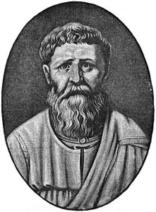 Public Domain picture of Augustine