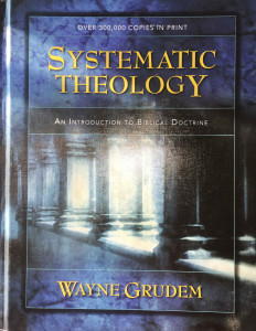 Systematic Theology book by Grudem